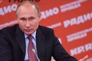 Trực thăng của ông Putin từng bị bắn ở Checnya