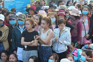 Đồng Nai tiếp tục ứng tiền giúp công nhân bị nợ lương