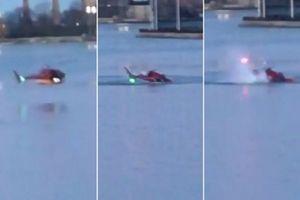 Trực thăng Mỹ lao xuống sông, 2 người thiệt mạng