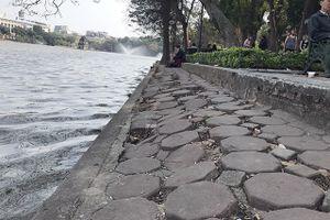 Lát đá toàn bộ vỉa hè hồ Gươm: Chuyên gia nói gì?