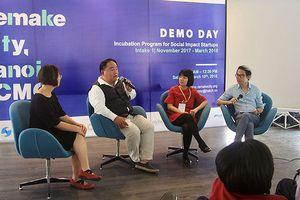 3 startup đầu tiên của Chương trình Remake City được giới thiệu để gọi vốn