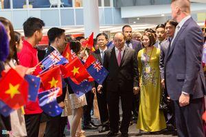 Dồn dập những hoạt động đầu tiên của Thủ tướng Nguyễn Xuân Phúc tại New Zealand