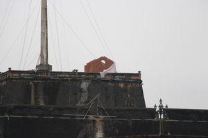 Phục dựng 2 điếm canh trên di tích Kỳ Đài Huế