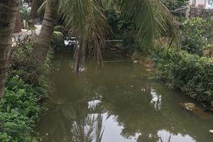 Hai học sinh tử vong dưới mương nước