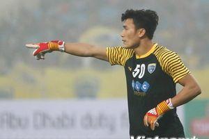 Bùi Tiến Dũng trở lại bắt chính cho Thanh Hóa tại AFC Cup