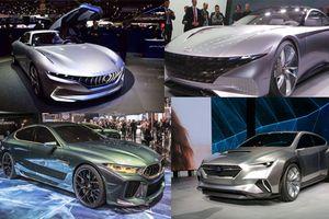 Cận cảnh 5 mẫu ôtô 'hot' nhất hành tinh vừa ra mắt