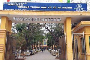Hàng chục học sinh bị mẩn ngứa bất thường ở trường THCS An Khánh