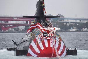 Cận cảnh tàu ngầm Sōryū thứ 9 trong biên chế 'Hải quân' Nhật Bản