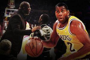 Gặp riêng tâm tình với đội ngũ LeBron, huyền thoại Magic Johnson muốn lôi kéo King James về Lakers?