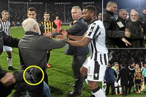 Giải vô địch bóng đá Hy Lạp bị đình chỉ vì vụ chủ tịch đội bóng mang súng vào sân