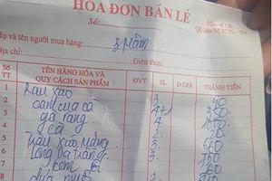 Nhà hàng 'chặt chém' khách đi chùa Ba Vàng bị phạt 750.000 đồng