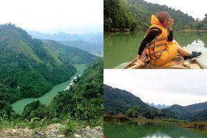 Lênh đênh du ngoạn ở hồ thủy điện sông Miện để thấy Hà Giang đẹp đến nao lòng