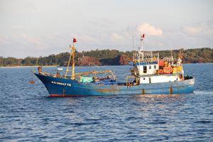 Tìm tàu cá có tài công tên An và Liêm bị Thái Lan bắt giữ