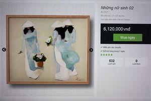 Giới họa sĩ phẫn nộ về trang web vô tư mời chào bán tranh chép