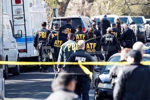 Hiện trường loạt vụ nổ bom tại tiểu bang Texas, Mỹ