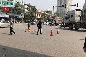 Xác định danh tính tài xế xe đầu kéo làm 1 phụ nữ tử vong tại Hà Nội