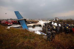Những thi thể cháy khô trong thảm kịch hàng không tại Nepal