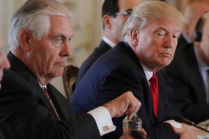 Tổng thống Trump có ý định sa thải Ngoại trưởng Tillerson từ lâu