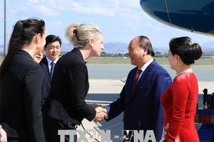 Thủ tướng Nguyễn Xuân Phúc đến Canberra, bắt đầu thăm chính thức Australia