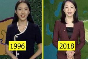 Clip: Nữ MC thời tiết gây sốt với nhan sắc không đổi sau 20 năm