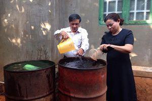 Đắk Lắk: Nước giếng một hộ gia đình nóng bất thường