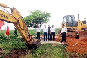 Vĩnh Phúc: Vĩnh Tường phấn đấu hoàn thành dồn thửa đổi ruộng canh tác nông nghiệp