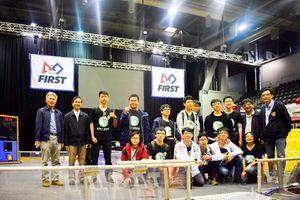 Đoàn Việt Nam tham dự cuộc thi Robotics tại Úc đứng thứ 25 trong 40 đội tham gia