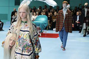 Show diễn đầu nhân tạo của Gucci được xem nhiều nhất trên Vogue
