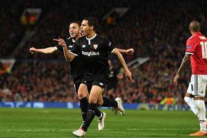 Sao Sevilla lập cú đúp, MU 'ôm hận' rời Champions League