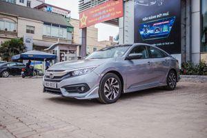 Cận cảnh Honda Civic 1.8E giá 758 triệu đồng tại Việt Nam