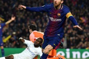 Clip: Messi lập cú đúp, Barca 'chôn vùi' Chelsea