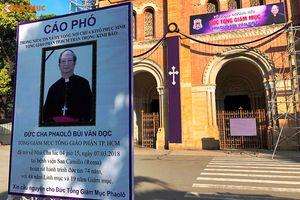 Công tác chuẩn bị nơi an táng Đức Tổng Giám mục Phaolô Bùi Văn Đọc