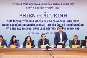 Hà Nội: Nhiều cán bộ phải giải trình vì ứng xử không đúng chuẩn với dân
