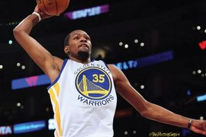 Lakers 106-117 Golden State: Kevin Durant cân team