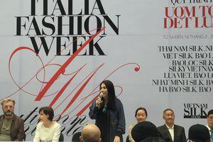 Khai mạc Tuần lễ thời trang Thu đông Vietnam – Italia Feshion Week 2018