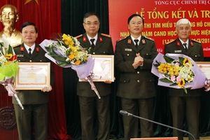 Trao thưởng cuộc thi viết Tìm hiểu tư tưởng Hồ Chí Minh về CAND