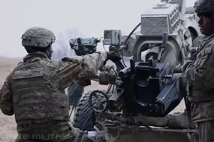 Tập trận bắn đạn thật trong Dynamic Front 18