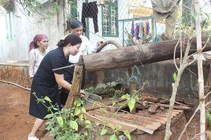 Đắk Lắk: Giếng nước bỗng dưng bốc khói nghi ngút, nóng đến 70 độ C