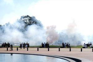 Toàn cảnh lễ đón trọng thể Thủ tướng Nguyễn Xuân Phúc tại Australia