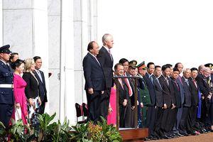 Australia bắn 19 loạt đại bác đón Thủ tướng Nguyễn Xuân Phúc