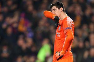 Bị Messi 'xỏ háng' hai lần, Courtois thành trò cười của dân mạng