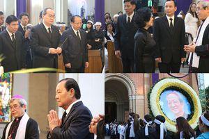 Lãnh đạo Trung ương, TP HCM viếng tang Tổng giám mục Phaolô Bùi Văn Đọc