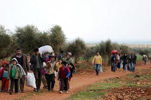 Cảnh dân thường ồ ạt tháo chạy khỏi 'chảo lửa' Afrin