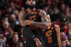 Cleveland 105-113 Portland: King James kiệt sức vì phải gánh quá nhiều