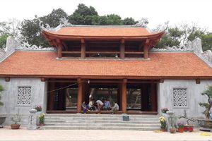 Bộ Văn hóa lên tiếng về tam quan chùa Bổ Đà