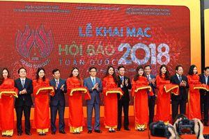 Hà Nội: 55 đơn vị tưng bừng khai mạc Hội báo toàn quốc 2018