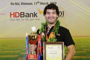 Đại kiện tướng Mareco Sando vô địch giải Cờ vua quốc tế HDBank