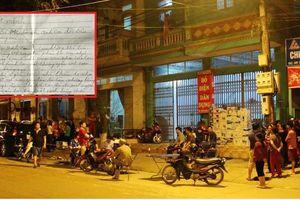 Nữ bác sĩ bị sát hại ở Lào Cai: Hé lộ nội dung thư tuyệt mệnh của người chồng
