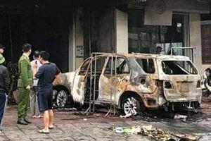 Bắt khẩn cấp nghi can đốt trơ khung ô tô của hàng xóm