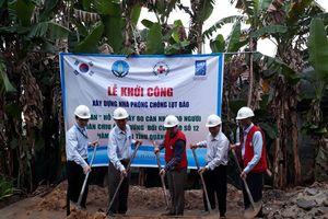 Khởi công xây dựng 5 căn nhà an toàn ở Quảng Nam
